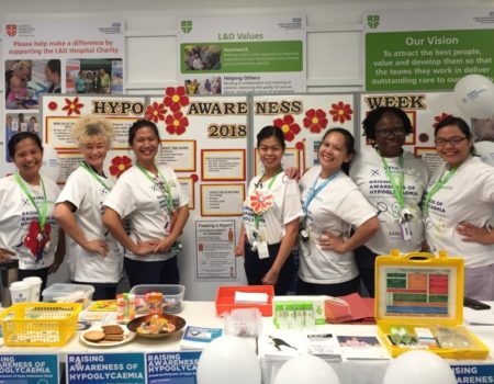 Staff awareness stand