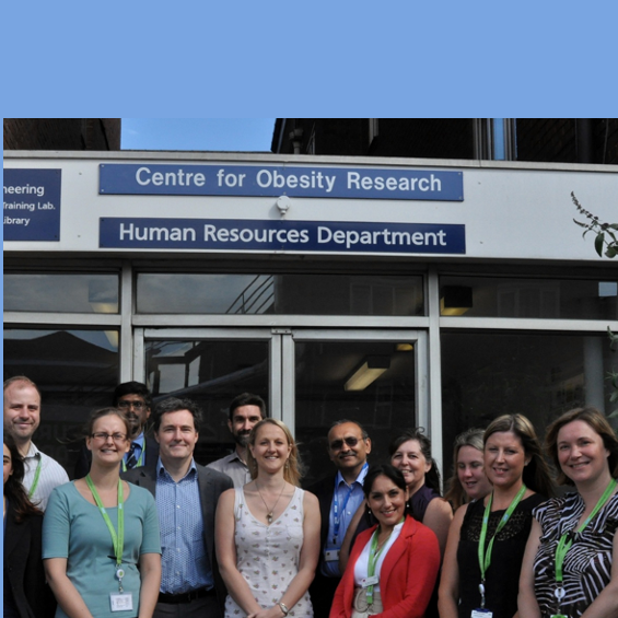 Obesity team outside department
