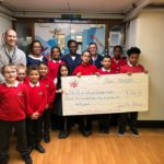 Southfield Primary donation to NICU