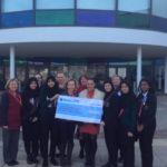 Challney High School cheque donation