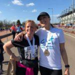 Zoe Half Marathon runner