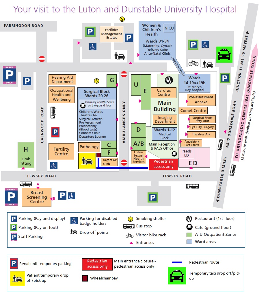 Ward Information Luton Dunstable University Hospital