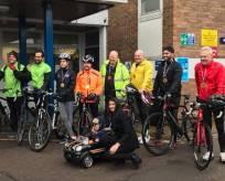 Bike Ride raising money for NICU