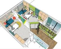 The plan for the Child Oncology Rooms Project