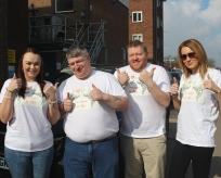 Rianna Steers and her team ready for their Charity events