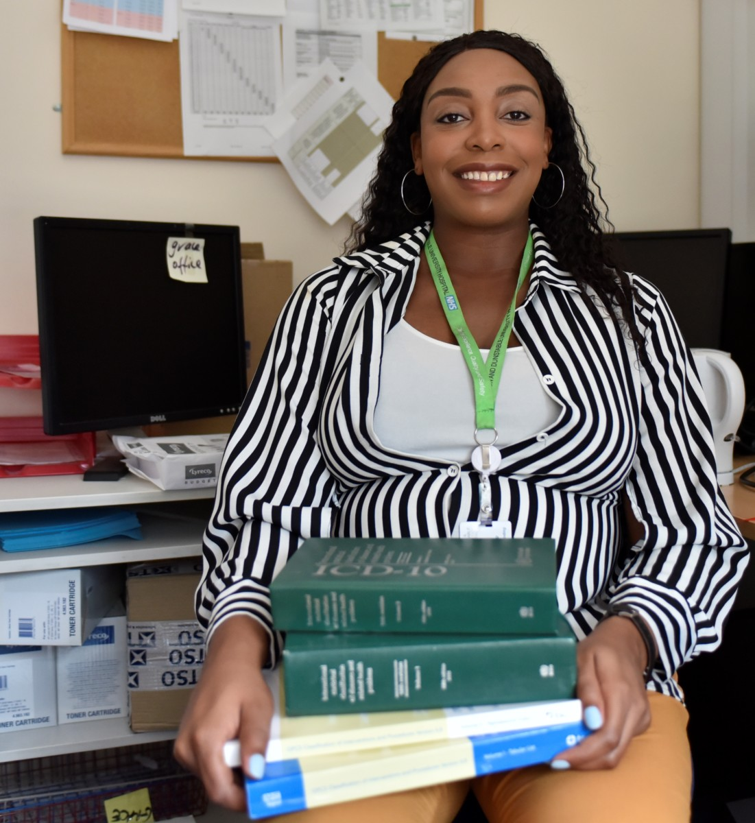 Grace Amadi, Head of Clinical Coding