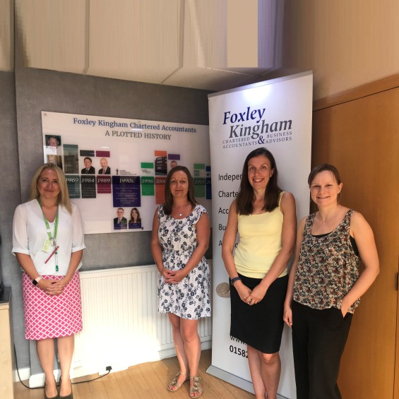 Foxley Kingham Charity of the Year