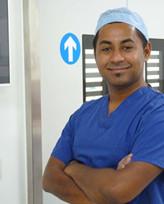 Mr Rashid, ENT consultant