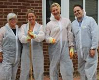 TUI volunteering at the NICU parents accommodation