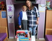 Toy donation from staff at Foxley Kingham