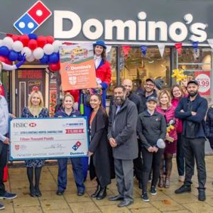 Domino's Pizza is raising the dough for L&D Helipad Appeal