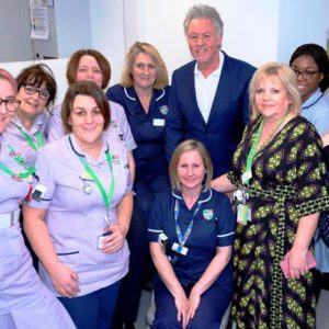 Paul Young opens new Pre-Assessment Unit at the L&D
