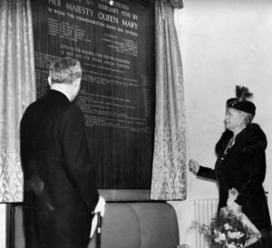 Queen Mary officially opened the L&D on 14 February 1939