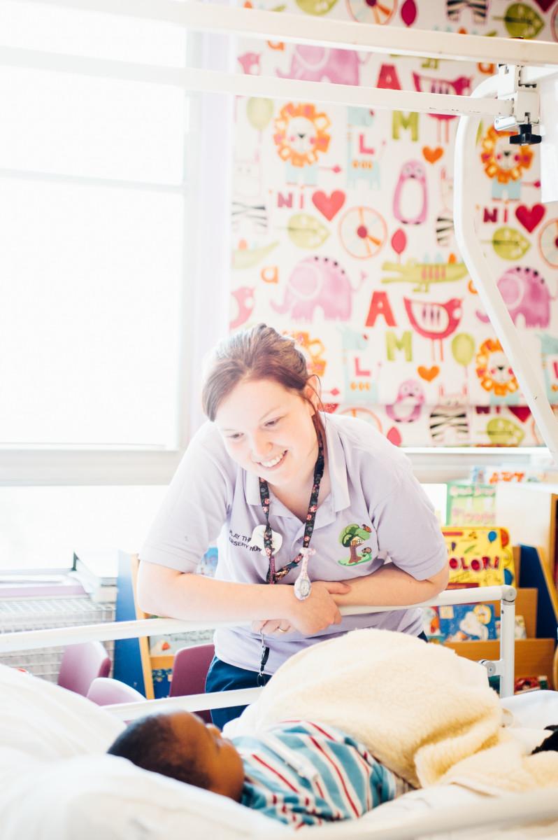 Paediatric Unit with play nurse