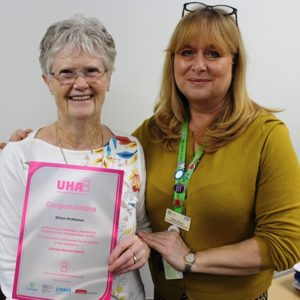 L&D volunteer shortlisted for Unsung Hero Award