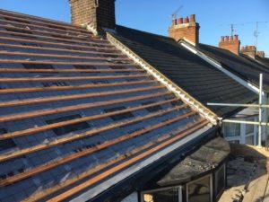 NICU big build roof