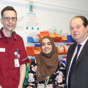 Stephen Hammond MP visits the L&D