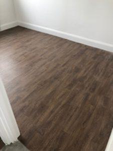 Flooring laid in the NICU Big Build