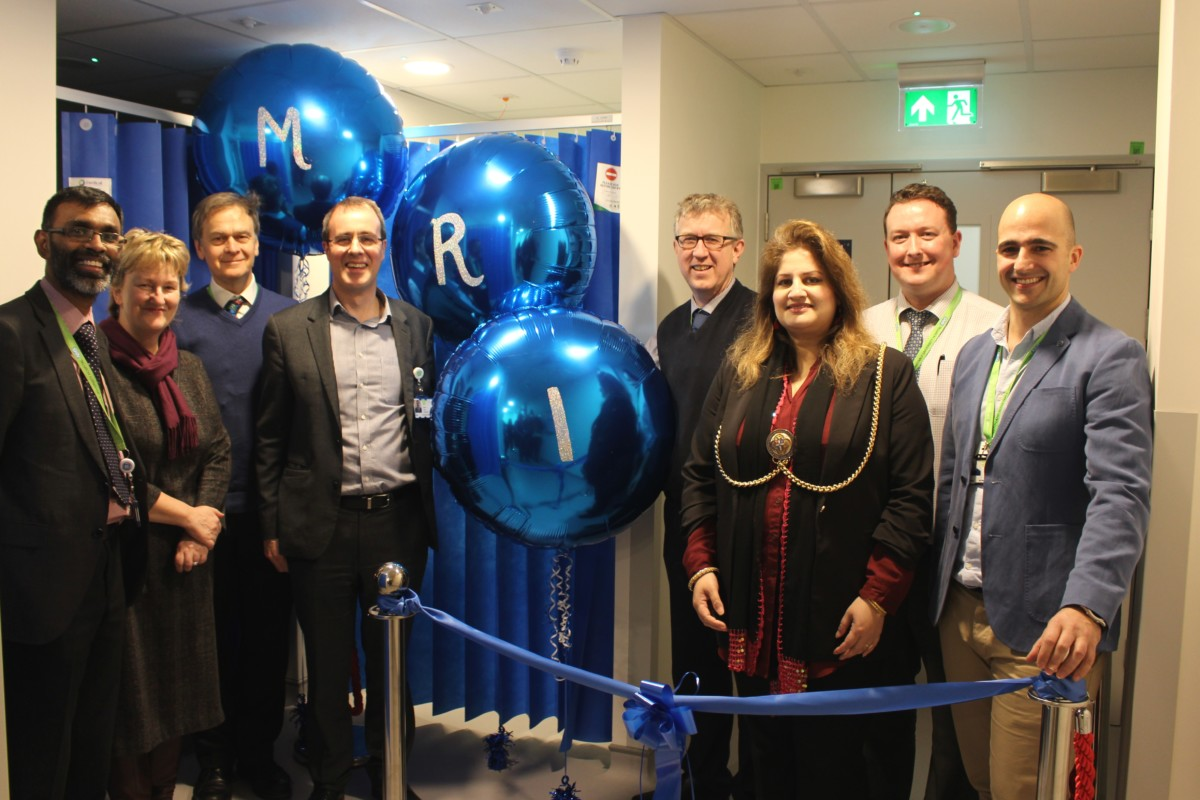 Official opening of MRI