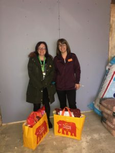 Sainsburys donation to NICU big build