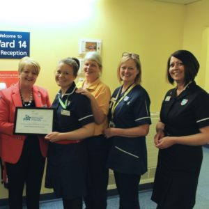 L&D is one step closer to becoming a nationally recognised Dementia Friendly hospital