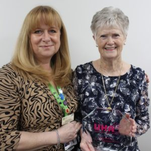 Long serving L&D volunteer wins national award