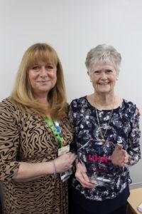 Eileen and Karen Bush