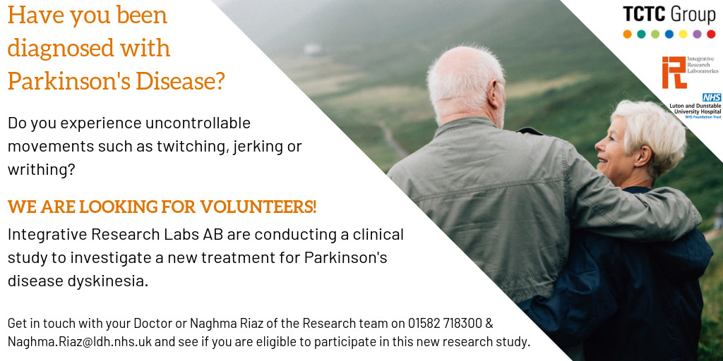 Clinical trial for parkinsons disease