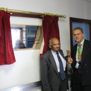 Ward 10 renamed to recognise the outstanding support former L&D consultant gave junior doctors