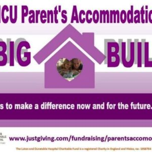 Appeal for furnishings to complete the L&D's NICU Big Build