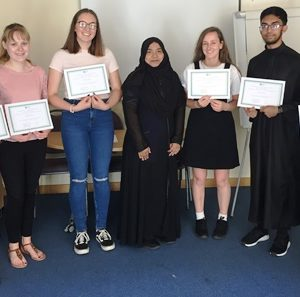 L&D celebrates first students to graduate from Youth Volunteering programme