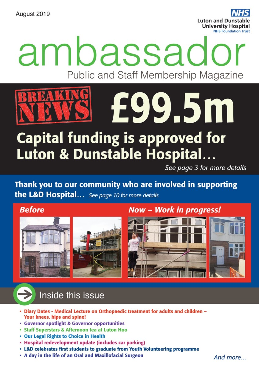 August cover of Ambassador