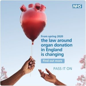 The law around organ donation is changing