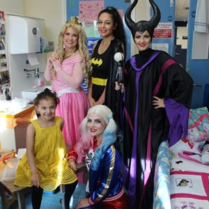 Young patients and staff celebrate National Play in Hospital Week