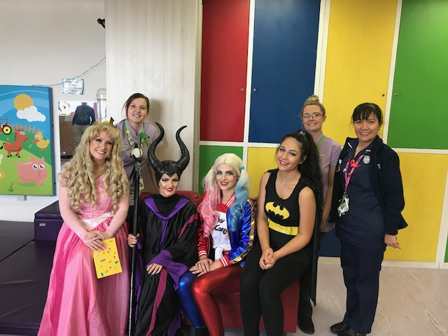 National Play in Hospital Week with staff