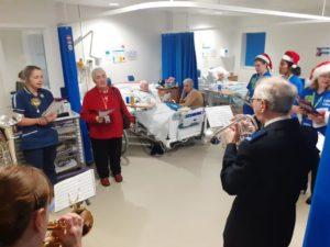 L&D choir on ward