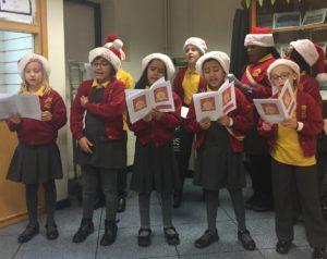 school christmas choir