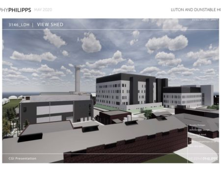 Proposed L&D site after redevelopment