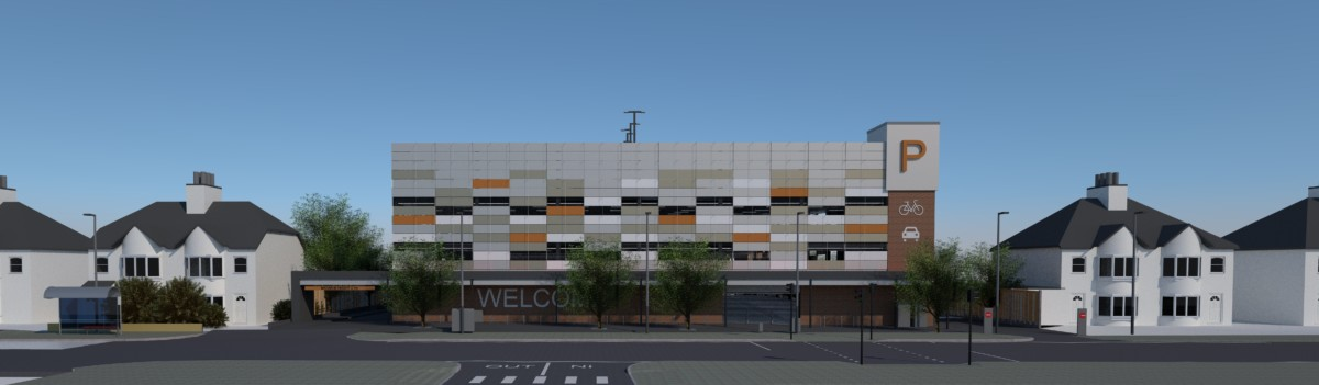 New Carpark front view