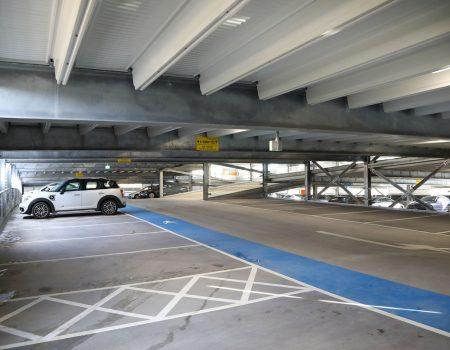 Inside new L&D car park