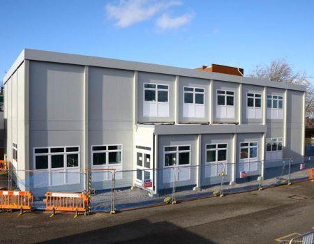 ED modular building