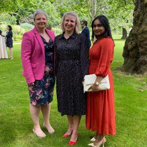 Amanda, Paula and Aakifah at NHS Big Tea party