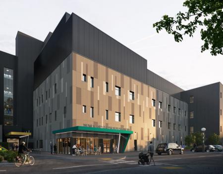 CGI of new ward block