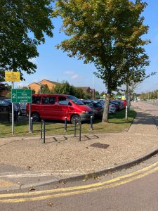Patient and visitor car park that will be closing